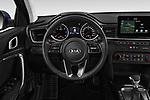 Car pictures of steering wheel view of a 2019 KIA Ceed-SW More 5 Door Wagon Steering Wheel
