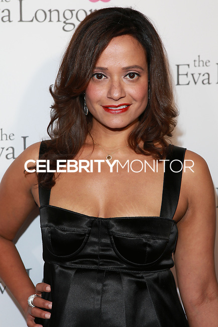 HOLLYWOOD, LOS ANGELES, CA, USA - OCTOBER 09: Judy Reyes arrives at the Eva Longoria Foundation Dinner held at Beso Restaurant on October 9, 2014 in Hollywood, Los Angeles, California, United States. (Photo by David Acosta/Celebrity Monitor)