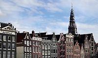 Nederland  Amsterdam - 2020.  De Oude Kerk bij de Wallen.  Foto  ANP / Hollandse Hoogte / Berlinda van Dam