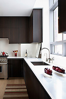 Corian worktop in the kitchen