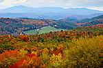 Fall foliage in Barnet, VT, USA