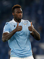 Lazio s Felipe Caicedo celebrates after scoring during the Serie A soccer match between Lazio and Hellas Verona at Rome's Olympic Stadium, December 12, 2020.<br /> UPDATE IMAGES PRESS/Riccardo De Luca