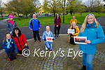 Some of the 142 members of the Tralee Walkers, who took part in a virtual walking group and did their walk over 100 days.  Front: Catherine White. Kneeling l to r: Kelly and Bernie Hayes, Martha Keane and Veronica White. Back l to r: Ann O'Sullivan, James Finnegan, Bernadette O'Connor and Pauline O'Shea.