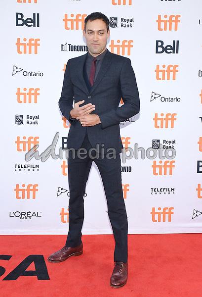 "09 September 2017 - Toronto, Ontario Canada - Alex Hassell. 2017 Toronto International Film Festival - ""Suburbicon"" Premiere held at Princess of Wales Theatre. Photo Credit: Brent Perniac/AdMedia"