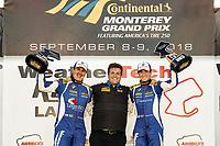 Winners #81 BimmerWorld Racing, BMW 328i, ST: Nick Galante, Devin Jones, podium