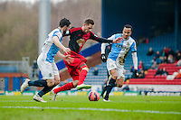 BLACKBURN, ENGLAND - JANUARY 24: Gylfi Sigurosson of Swansea City moves the ball forwards   during the FA Cup Fourth Round match between Blackburn Rovers and Swansea City at Ewood park on January 24, 2015 in Blackburn, England.  (Photo by Athena Pictures/Getty Images)