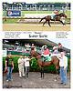 Super Siete winning at Delaware Park racetrack on 6/21/14