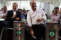 02.03.2018 - Alckmin e Doria inauguram a estação Eucaliptos em SP