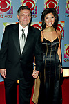 Julie Chen and Leslie Moonves attending CBS AT 75, a three hour entertainment extravaganza commemorating CBS's 75th Anniversary, which will be broadcast live from the Hammerstein Ballroom at New York's Manhattan Center in New York City. <br />