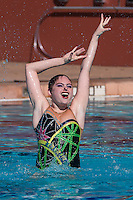 Stanford, CA; Saturday February 13 2016; Synchronized Swimming, Stanford vs Incarnate Word