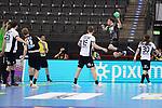 Patrick Groetzki (GER) beim Wurf bei der Euro-Qualifikation im Handball, Deutschland - Estland.<br /> <br /> Foto © PIX-Sportfotos *** Foto ist honorarpflichtig! *** Auf Anfrage in hoeherer Qualitaet/Aufloesung. Belegexemplar erbeten. Veroeffentlichung ausschliesslich fuer journalistisch-publizistische Zwecke. For editorial use only.