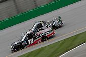 #18: Christian Eckes, Kyle Busch Motorsports, Toyota Tundra Safelite AutoGlass #13: Johnny Sauter, ThorSport Racing, Ford F-150 Vivitar