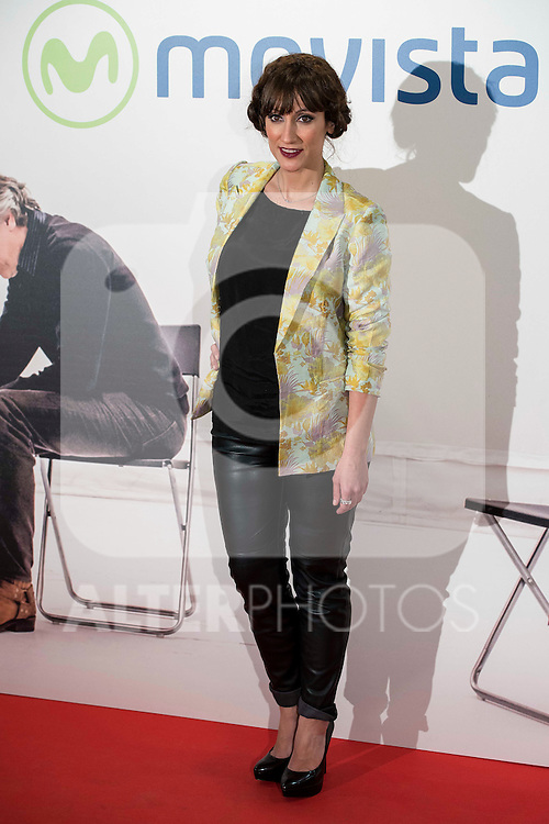 """Ana Morgade attends to the premire of the film """"Que fue de Jorge Sanz"""" at Cinesa Proyecciones in Madrid. February 10, 2016."""
