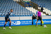 20th February 2021; The John Smiths Stadium, Huddersfield, Yorkshire, England; English Football League Championship Football, Huddersfield Town versus Swansea City; Conor Hourihane of Swansea City with the games first corner