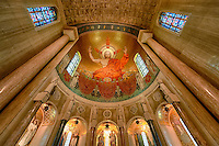 Christ in Majesty, North Apse, Basilica of the National Shrine of the Immaculate Conception, Washington DC, USA