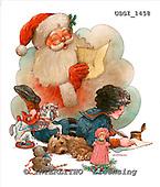 GIORDANO, CHRISTMAS SANTA, SNOWMAN, WEIHNACHTSMÄNNER, SCHNEEMÄNNER, PAPÁ NOEL, MUÑECOS DE NIEVE, paintings+++++,USGI1458,#X#