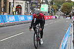 Practice time for the teams including Owain Doull (GBR) before the Men Elite Individual Time Trial of the UCI World Championships 2019 running 54km from Northallerton to Harrogate, England. 25th September 2019.<br /> Picture: Seamus Yore | Cyclefile<br /> <br /> All photos usage must carry mandatory copyright credit (© Cyclefile | Seamus Yore)