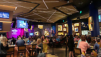 Hard Rock Cafe im Gitarren-Hotel des Hard Rock Hotels - 24.01.2020: Hard Rock Hotel & Casino, Hollywood, FL