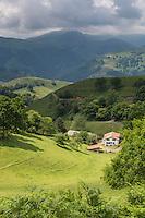 France, Aquitaine, Pyrénées-Atlantiques, Pays Basque, Vallée des Aldudes aux environs de Banca:  //  France, Pyrenees Atlantiques, Basque Country,  Aldudes Valley near  Banca: