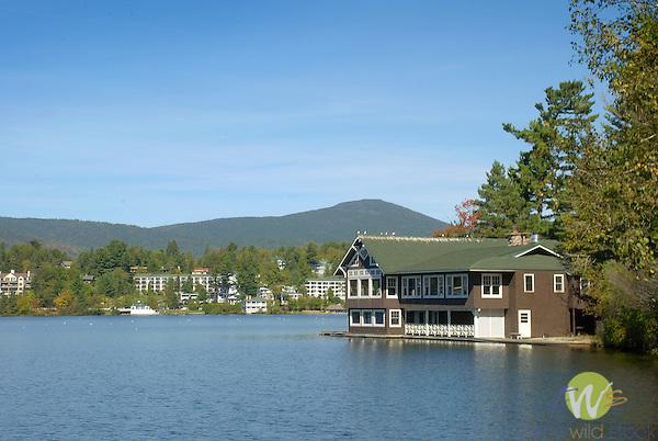 Mirror Lake, Lake Placid, New York