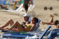Dominikanische Republik, am Strand von Cabarete an der Nordküste