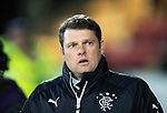 St Johnstone v Rangers…27.02.18…  McDiarmid Park    SPFL<br />Rangers manager Graeme Murty<br />Picture by Graeme Hart. <br />Copyright Perthshire Picture Agency<br />Tel: 01738 623350  Mobile: 07990 594431