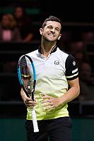 Rotterdam, The Netherlands, 17 Februari, 2018, ABNAMRO World Tennis Tournament, Ahoy, Tennis, Semi final double, Horia Tecau (ROU) / Jean-Julien Rojer (NED), Mate Pavic (CRO) / Oliver Marach (AUT)<br /> <br /> Photo: www.tennisimages.com