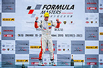 Alessio Picariello of Belgium and Absolute Racing celebrates after wining the Formula Masters China Series as part of the 2015 Pan Delta Super Racing Festival at Zhuhai International Circuit on September 20, 2015 in Zhuhai, China.  Photo by Aitor Alcalde/Power Sport Images
