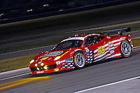 #56 AF-Waltrip Ferrari 458 of Robert Kauffman, Michael Waltrip, Travis Pastrana & Rui Aguas