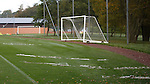 Ice removed from the training pitch at auchenhowie this morning