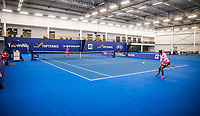 Amstelveen, Netherlands, 18  December, 2020, National Tennis Center, NTC, NK Indoor, National  Indoor Tennis Championships,   :  Overall view , no public <br /> Photo: Henk Koster/tennisimages.com