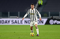 3rd January 2021, Allianz Stadium, Turin Piedmont, Italy; Serie A Football, Juventus versus Udinese; Aaron Ramsey of Juventus Fc in action during the Serie A match between Juventus FC and Udinese