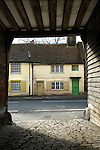 Row of old houses West Wycombe Buckinghamshire 2016
