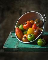 Gastronomie, Anciennes variétés de tomates // Gastronomy, Former  varieties of tomatoes, tomato cultivars