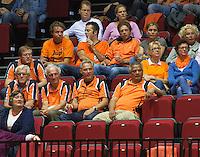 14-sept.-2013,Netherlands, Groningen,  Martini Plaza, Tennis, DavisCup Netherlands-Austria, Doubles,  Supporters <br /> Photo: Henk Koster