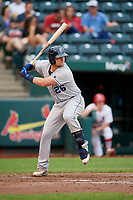 Corpus Christi Hooks third baseman J.D. Davis (26) at bat during a game against the Springfield Cardinals on May 31, 2017 at Hammons Field in Springfield, Missouri.  Springfield defeated Corpus Christi 5-4.  (Mike Janes/Four Seam Images)