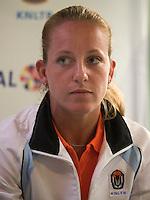 29-1-09, Almere, Training Fedcup team, Michelle Gerards