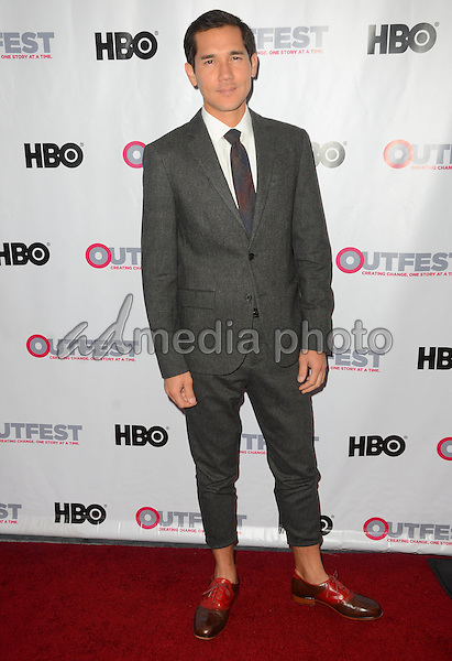 09 July 2015 - Los Angeles, California - Scotty Crowe. Arrivals for the 2015 Outfest Los Angeles LGBT Film Festival Opening Night Gala of TIG held at The Orpheum Theater. Photo Credit: Birdie Thompson/AdMedia