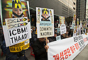 Anti-North Korea protest in Seoul