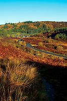 The Duke's Pass above Aberfoyle, Loch Lomond and The Trossachs National Park