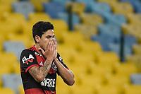 Rio de Janeiro (RJ), 15/07/2020 - Flamengo-Fluminense - Pedro. Partida entre Flamengo e Fluminense, válida pela final do Campeonato Carioca 2020, no Estádio Jornalista Mário Filho (Maracanã), na zona norte do Rio de Janeiro, nesta quarta-feira (15).