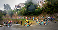 29th August 2020, Nice, France;  Illustration picture of the peloton with the  TEAM JUMBO - VISMA riders during stage 1 of the 107th edition of the 2020 Tour de France cycling race, a stage of 156 kms with start in Nice Moyen Pays and finish in Nice