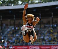 4th July 2021; Stockholm Olympic Stadium, Stockholm, Sweden; Diamond League Grand Prix Athletics, Bauhaus Gala;   Malaika MIHAMBO GER, long jump