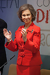 Queen Sofia of Spain attends 2013 Queen Sofia awards against drugs ceremony in Madrid, Spain. December 09, 2014. (ALTERPHOTOS/Victor Blanco)