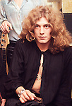 Led Zeppelin 1969 Robert Plant at the Lyceum<br /> © Chris Walter