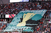 St. Paul, MN - Tuesday June 18, 2019: TIFO during a 2019 CONCACAF Gold Cup group D match between the United States and Guyana on June 18, 2019 at Allianz Field in Saint Paul, Minnesota.