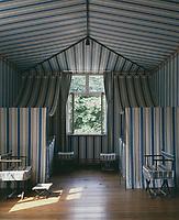 Schloss Charlottenhof,  Park Sanssouci, Potsdam, Germany  (1826-29 ) - The tent room.