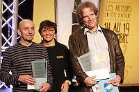 November 2012 File Photo -  Montreal, Quebec, CANADA - Salon du Live - Louis Hemond (L), Philippe Bea (R)