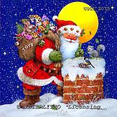 Christmas -Santas - Giordano