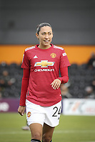 10th October 2020, The Hive, Canons Park, Harrow, England; Christen Press  24 Manchester United in portrait during for womens Super League game between Tottenham Hotspur and Manchester United